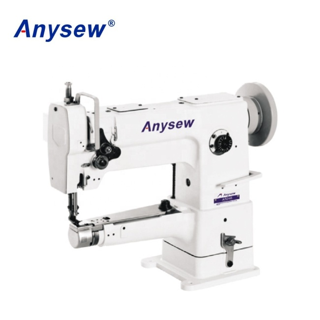 AS246 single needle Cylinder bed compound feed industrial sewing machine