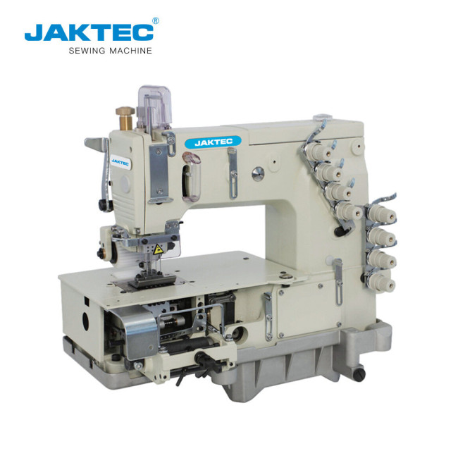 JK1404P Flat bed multi-needles double chain-stitch sewing machine