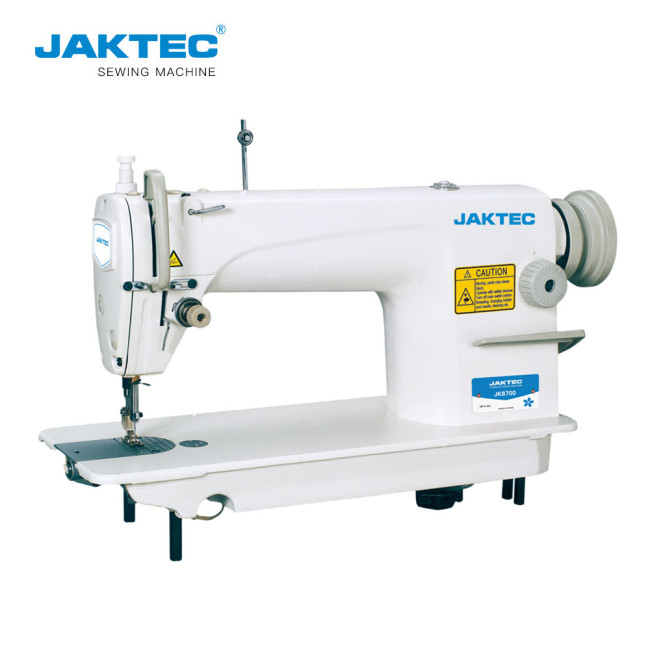 JK8700 High speed single needle lockstitch industrial sewing machine for sale