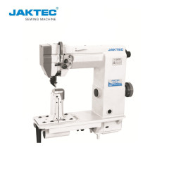JK9910 JK9920 Post bed roller feed sewing machine for shoes