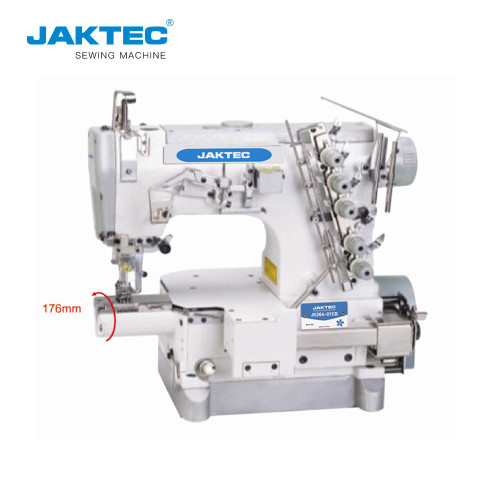 JK264-01CB Small Cylinder bed interlock sewing machine