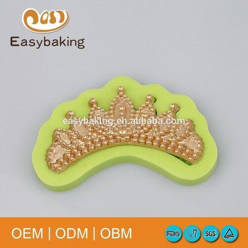 Female Crown Shape Customize Wedding Cake Decorating
