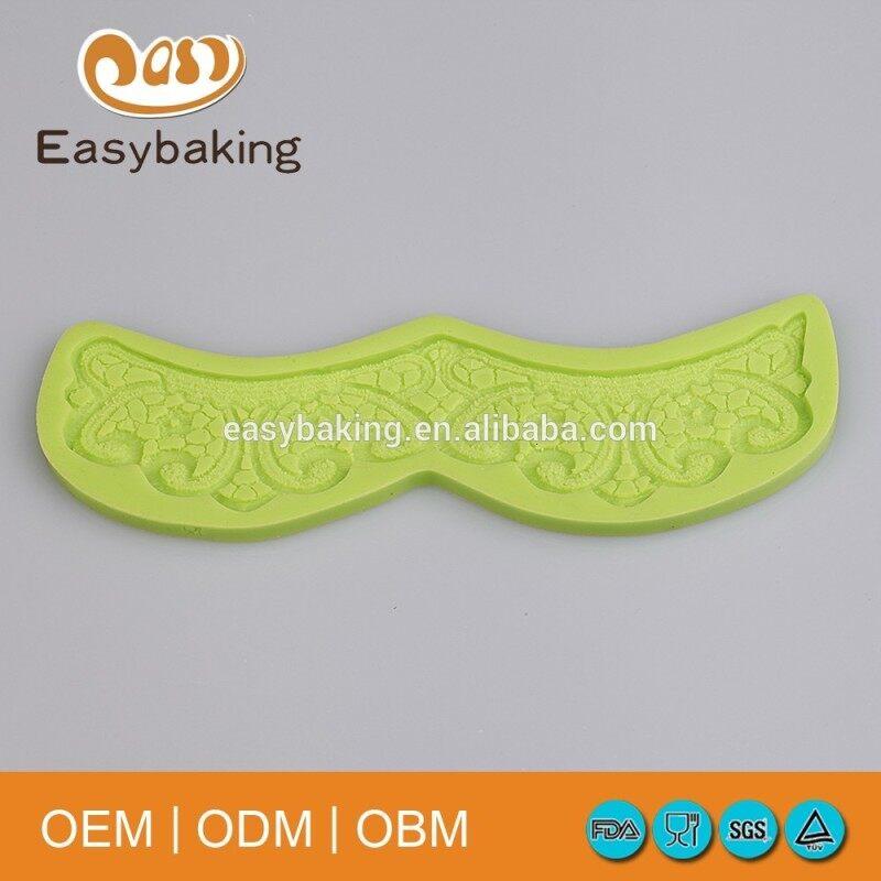 Arrival Bakery Equipment Wedding Cake Decorating Tools Silicone Fondant Lace Mold