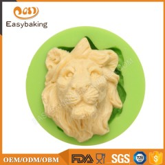 Promotional Gifts 2017 Fondant Silicone Molds Lion Head