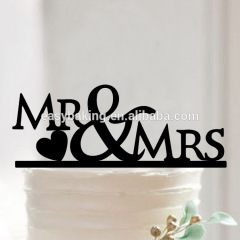Mr & Mrs Cake Decorating Supplies Cake Toppers for Couples
