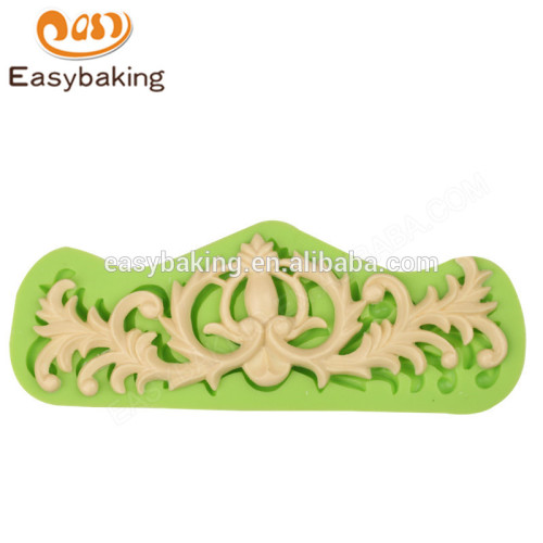 New hot selling fashion 172*64*10 decoration silicone baking mold