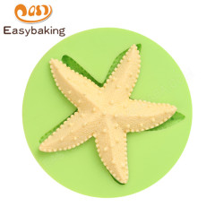 Ocean Theme 3D Starfish Soap Resin Craft Silicone Mold