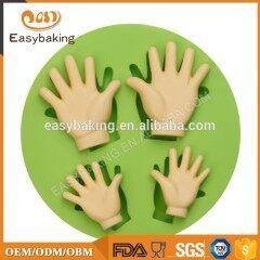 Hand-shaped fondant chocolate mold cake decoration tool hand-shaped silicone mold