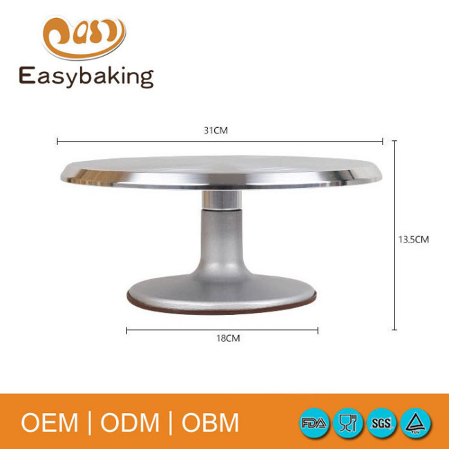 2018 hot sale high quality cake stand turntable