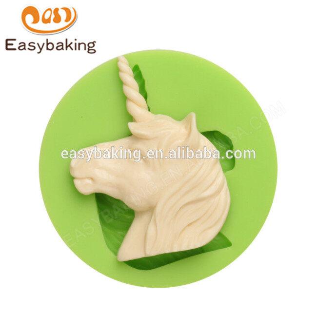 China Alibaba Manufacturer Chocolate Mold Unicorn Silicone Mold