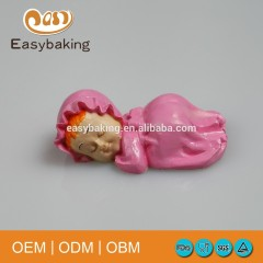 Wholesale Promotional High Quality Cake Decorate 3D Sleeping Baby Silicone Soap Mold