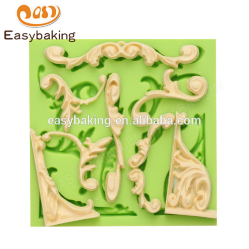 Factory direct wholesale 102*102*10 good price high quality silicone molds