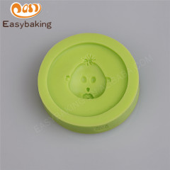 Whosale baby accessories nipple pacifier bottle candy silicone mold for cake decorating