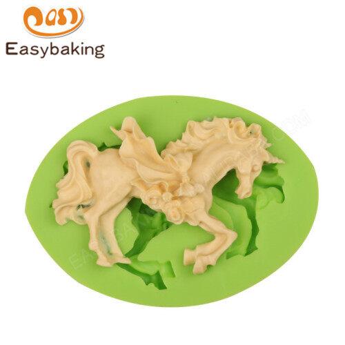 2018 Popular Animal Mould Unicorn Fondant Silicone Molds