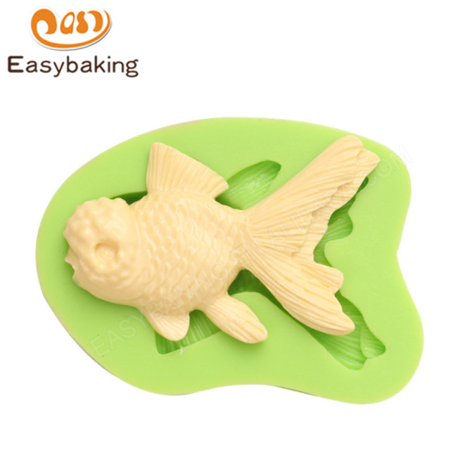 Factory Direct Sale Goldfish DIY Silicone Mold For Soap