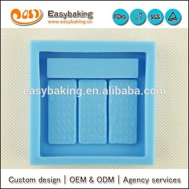 Make up silicone molds for fondant cake decorating concrete