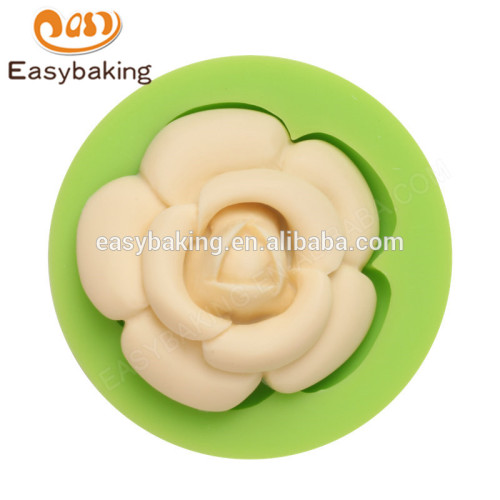 Cheap good quality flower shape silicone cake decoration silicone molds
