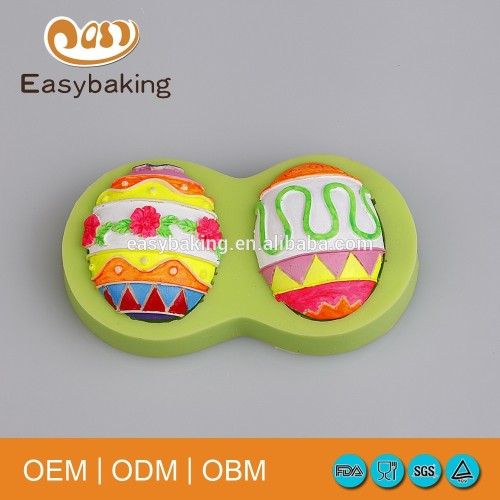 Halloween Beauty Easter Eggs Chocolate Silicone Mould