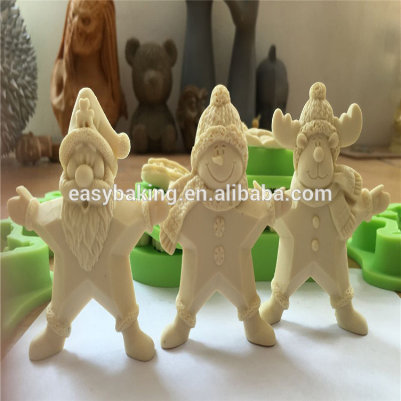 2018 NEW Christmas Trees Silicone Ice cream Mould