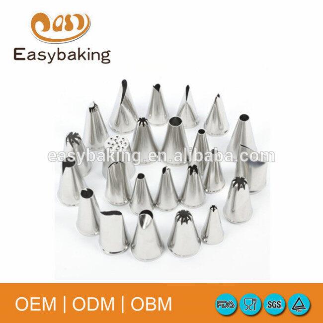 Food garde set of 52 pcs icing piping tip sets