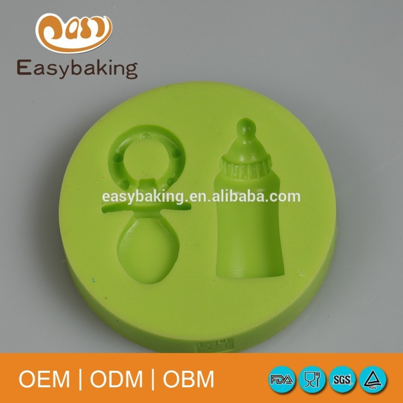 Baby Accessories Nipple Pacifier Bottle Candy Toys For Children Cake Decorating Silicone Mold