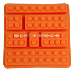 Cake tools building bricks Lego silicone mold for ice cube