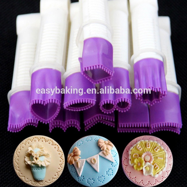 DIY sculpture design top clip cake decoration 10 pcs baking tools