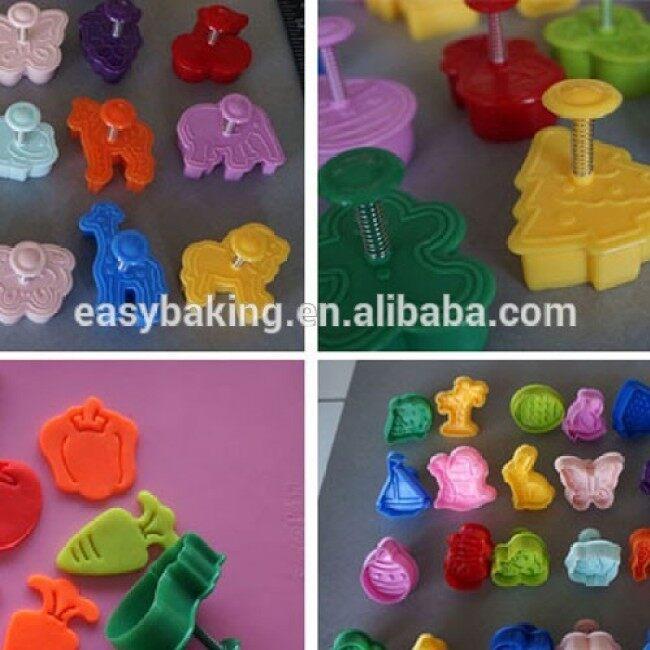 Factory Wholesale Custom Plastic Cookie Cutter Set