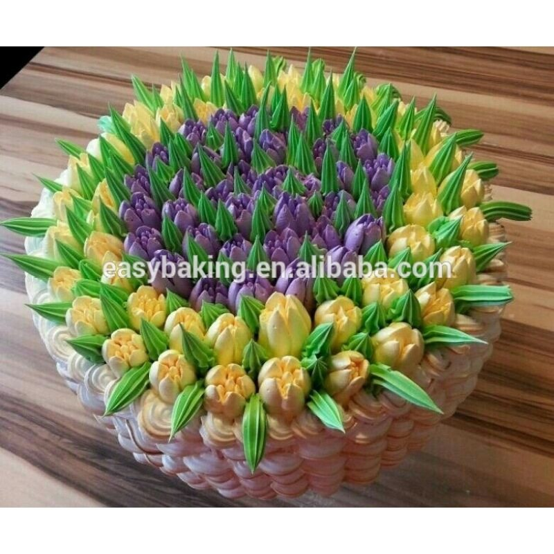 Different Pattern Cake Decoration Icing Piping Russian Nozzles