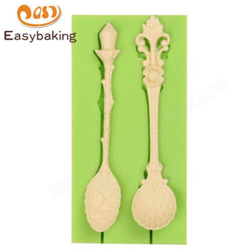 Cake Decoration European Style Spoon Silicone Mold