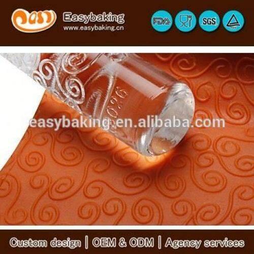 Custom Watered Acrylic Cake Decoratioing Fondant Rolling Pins