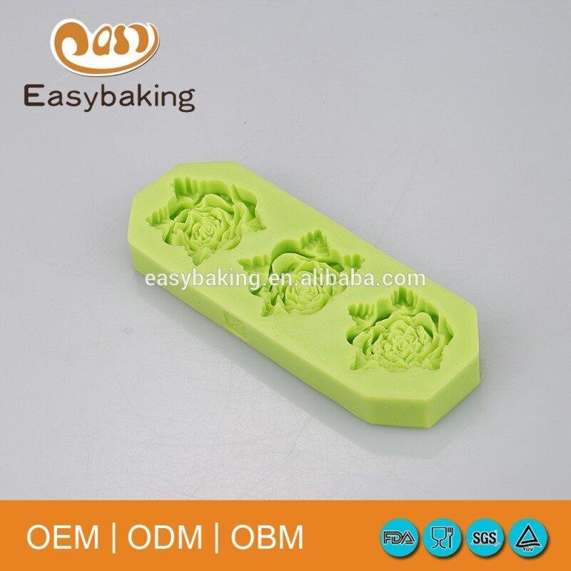 Best Quality Gypsum Cake Decorating Silicone Mould