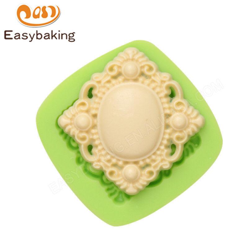 Gorgeous pendant silicone fondant molds for cake decoration