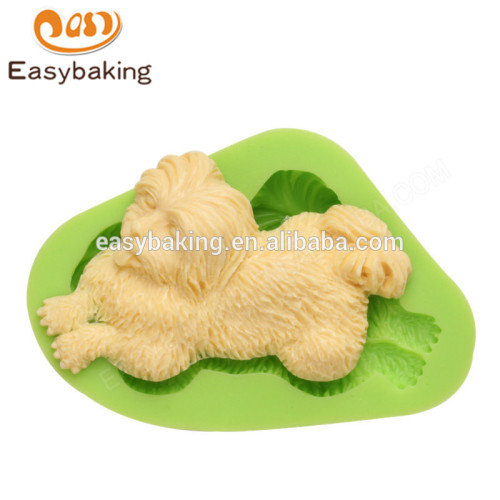 Personalized durable cheap animal themed puppy silicone molds