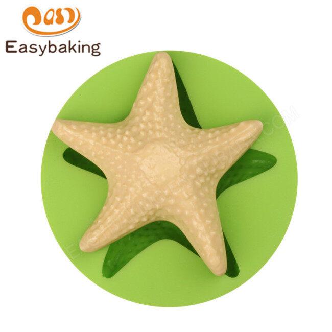 Animal Starfish Fondant Silicone Molds for cake decorating