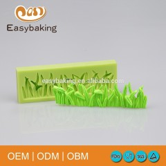 Latest Sugar Craft Grass Seamless Splicing Silicone Mold For Cake Side Decoration