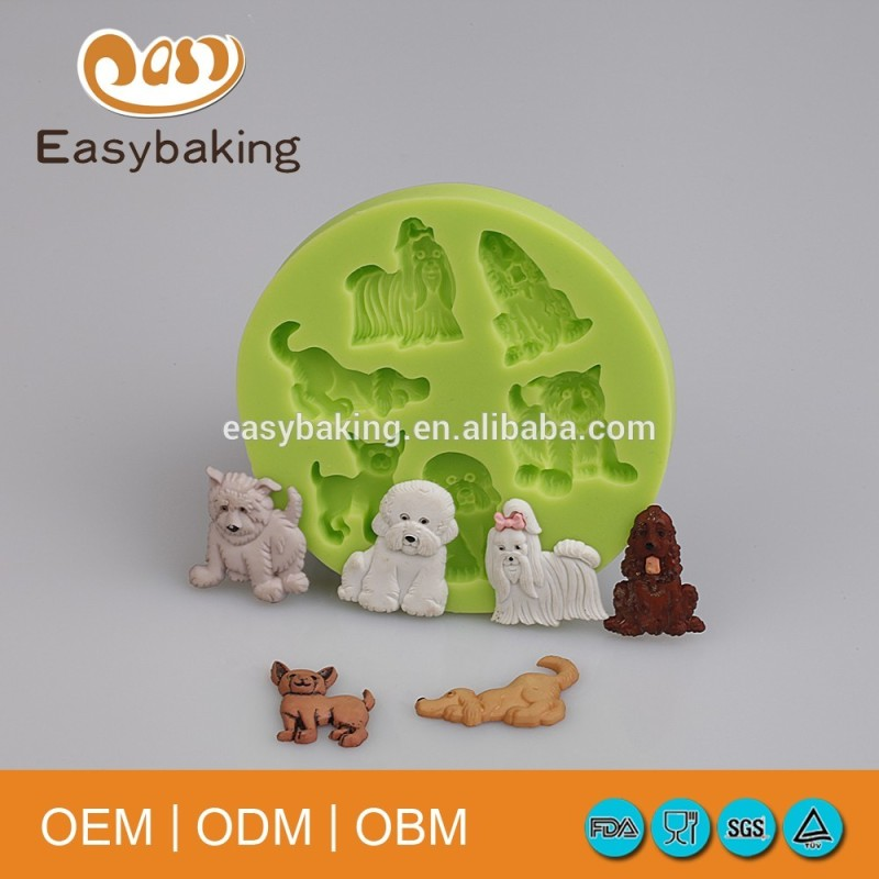 Food safety wholesale in alibaba silicone molds for cake decoration