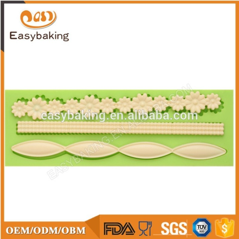 Facial expression silicone fondant molds for cake decoration