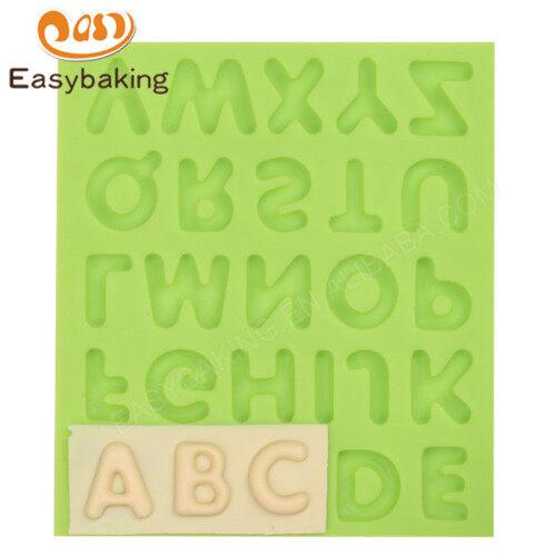 Alphabet Silicone Mold Fondant Sugarcraft Cake Decorating Tools