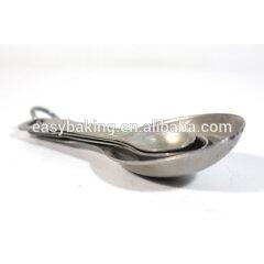 Hot Sale Cake Cream Baking Tools Stainless Steel Measuring Spoon