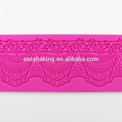 Hot cake decorating supplies silicone lace mat for Fondant