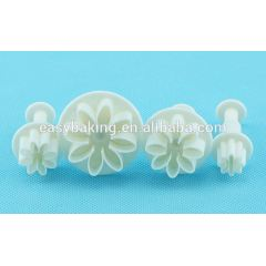 Holiday Cake Decor Daisy Plastic Plunger Cutters For Fondant