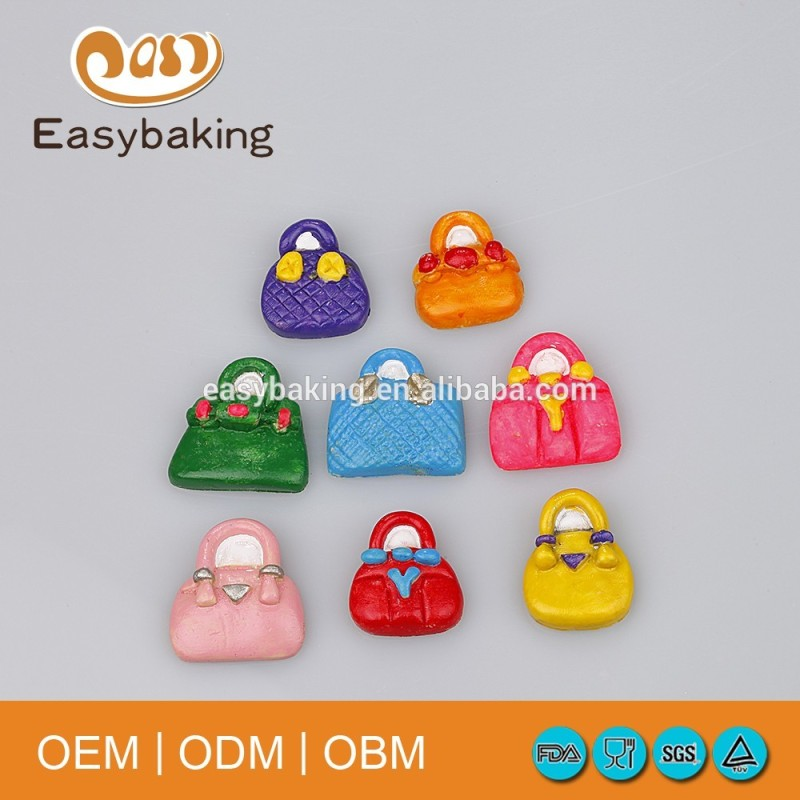 Food Grade 6 Cavities Homemade Craft Lady Bags Silicone Bakeware Cupcake Molds For Cake Decorate