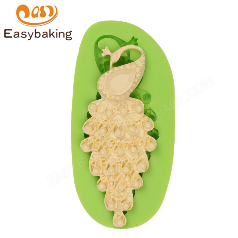 3D Jewel Cake Decoration fondant silicone Mould