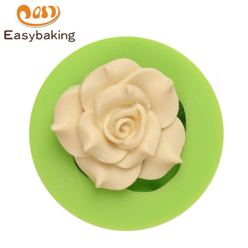 Flower Silicone Fondant  Paste Mold 3D Cake Decorating Mold