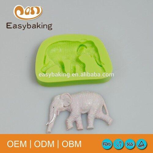 Bangkok thailand elephant polymer clay silicone mould