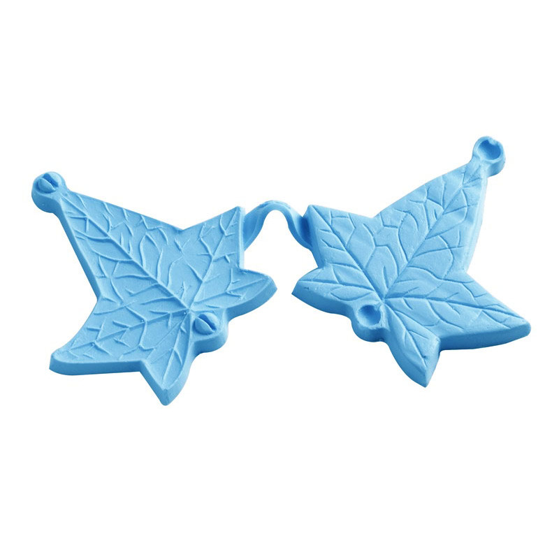 High quality different leaf texture shaped cake baking silicone molds