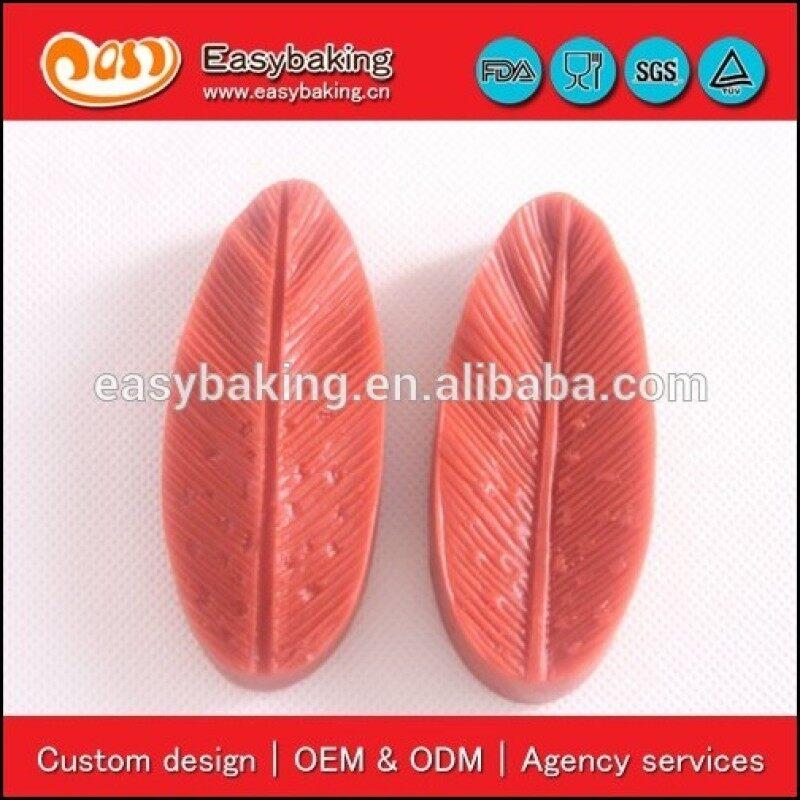 Cake Decoration Sugarcraft Veiner 3D Leaf Press Silicone Mould