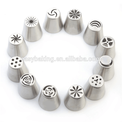 Russian Tulip Stainless Steel Icing Piping Nozzles Pastry Decorating Tips Cake Cupcake Decorator