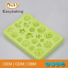 Multi Styles Cheap Flower Shape Silicone Molds For Cake Decor